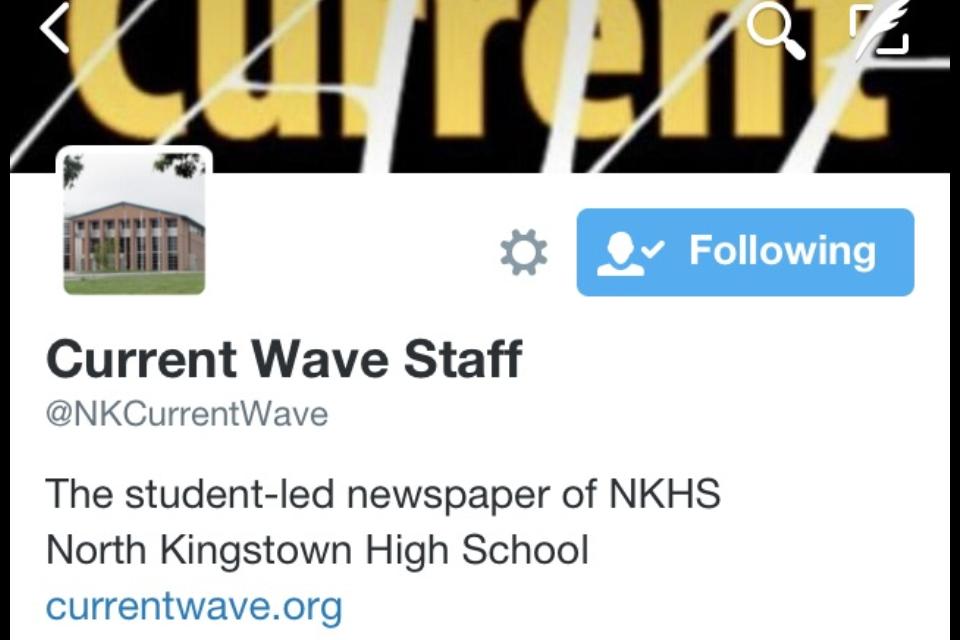 Follow us on Twitter @NKCurrentWave!
