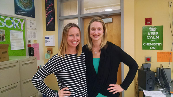 Mrs. Emily Zilly (left) and Mrs. Britany Coleman (right) are pictured.