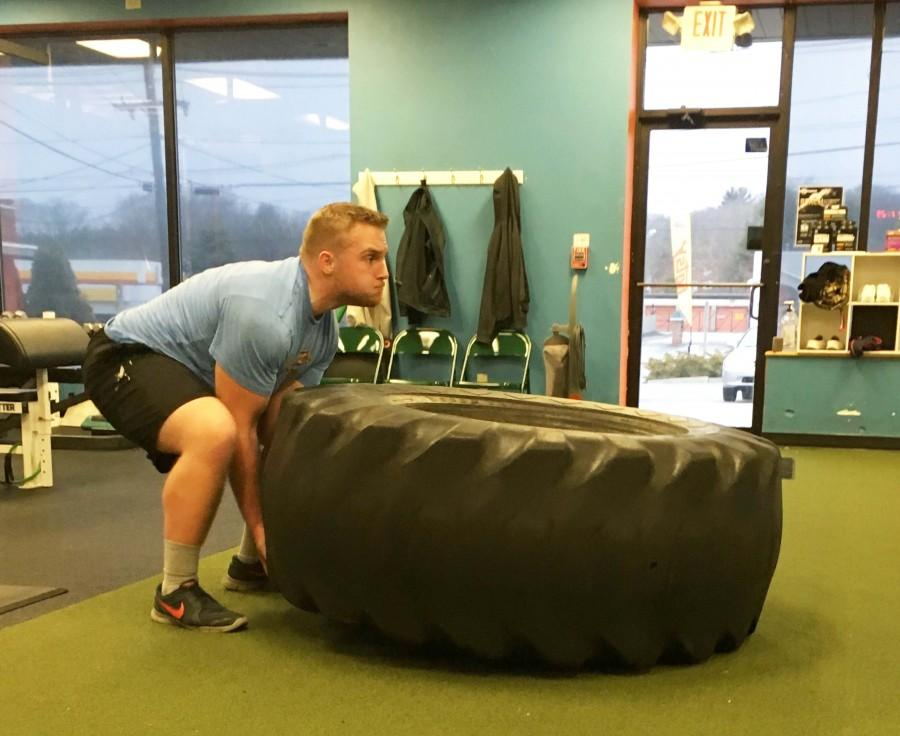 Barry currently interns at the personal training and sports performance gym, Perfectly Fit, in East Greenwich.