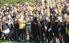 A Different Perspective: Outdoor Pep Rally